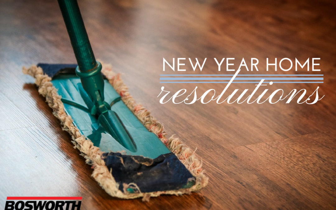 New Year Home Resolutions