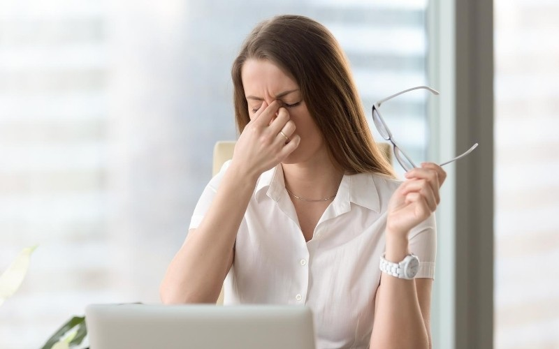 Woman Uncomfortable With Warm Air Coming From Her AC