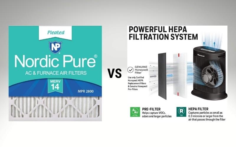 MERV and HEPA air filters